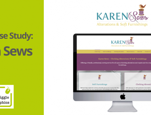 Squiggle Case Study – Karen Sews