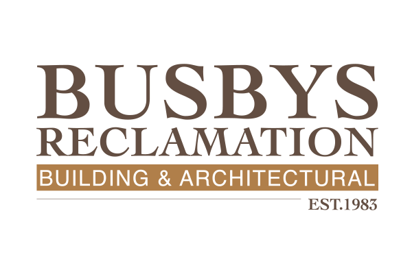 Busby's Reclamation logo design created by Squiggle Graphics