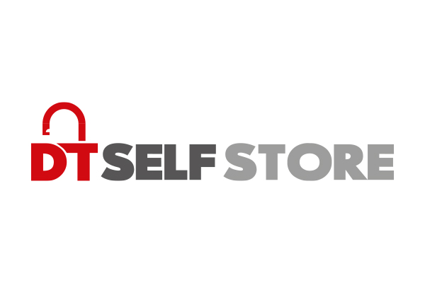 DT Self Store Logo Design by Squiggle Graphics