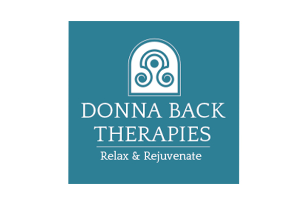 Donna Back Therapies Logo Design by Squiggle Graphics
