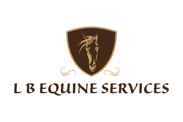 LB Equine Services Logo design created by Squiggle Graphics