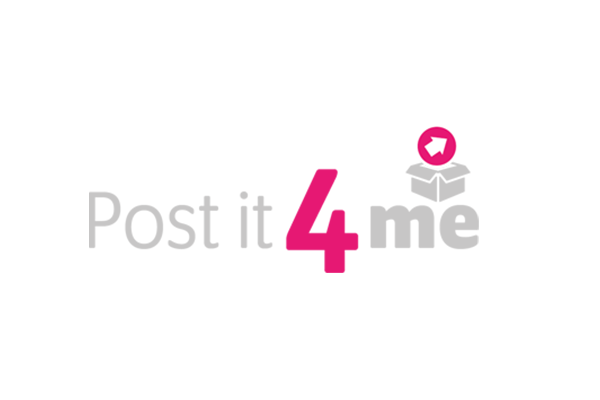 Post it 4 me logo design created by Squiggle Graphics