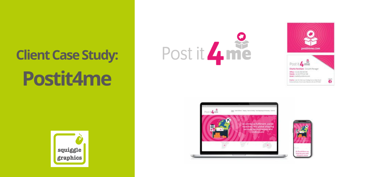 Squiggle Graphics Somerset - Postit4me Case Study